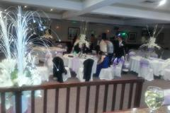 Wedding-guests-arrive-in-the-Lilac-Room